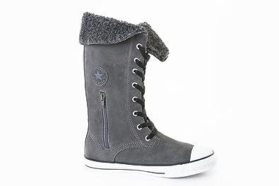 bce240aef9b86a Converse CTAS Sharon Charcoal 640480C Junior Boots  Amazon.co.uk ...