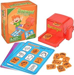 Battop Bazingo Bingo Card Matching Games Early Educational