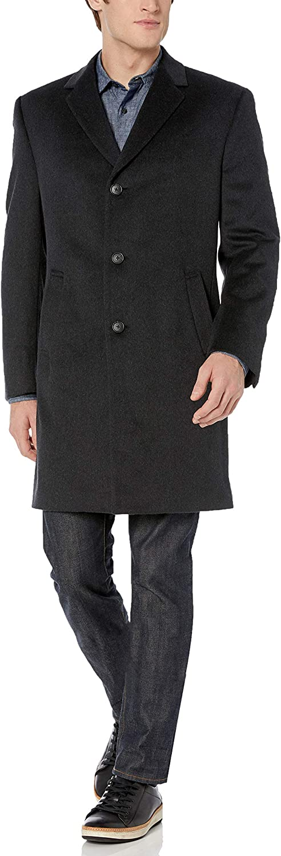 Kenneth Cole REACTION Mens Raburn Wool Top Coat