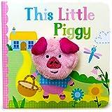 This Little Piggy (Finger Puppet Book) (Finger Puppet Board Book)