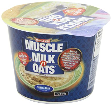 Amazon.com: Muscle Milk n Oats Vanilla, 2.7-Ounce Cups (Pack of 6): Health & Personal Care
