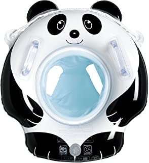 Igarashi Panda Inflatable Swimming Ring with Seat 55X55CM (Designed in Japan)