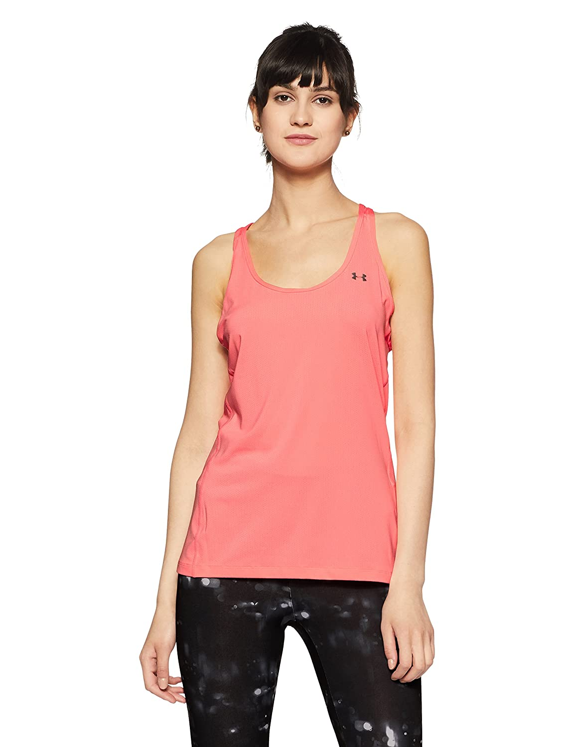Under Armour UA HG Racer Tank Camiseta sin Mangas, Mujer, Rosa, XS