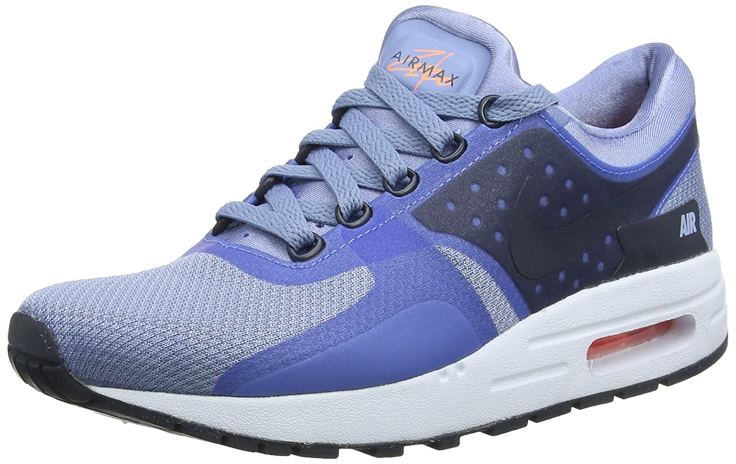 finest selection 8785e 46140 Amazon.com   NIKE Air Max Zero Essent - 881224400 - Color Violet-Olive -  Size  4.5   Road Running