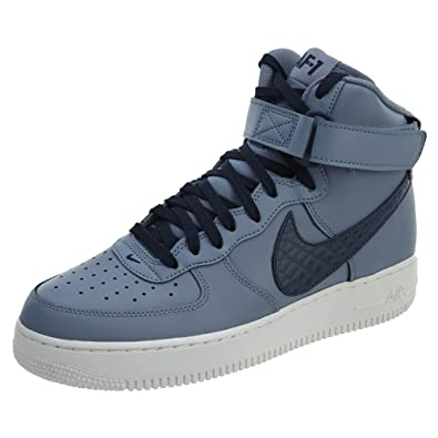 NIKE Air Force 1 High  07 LV8 Mens Fashion Sneakers 806403 404_9   Ashen Slate/Obsidian Summit White