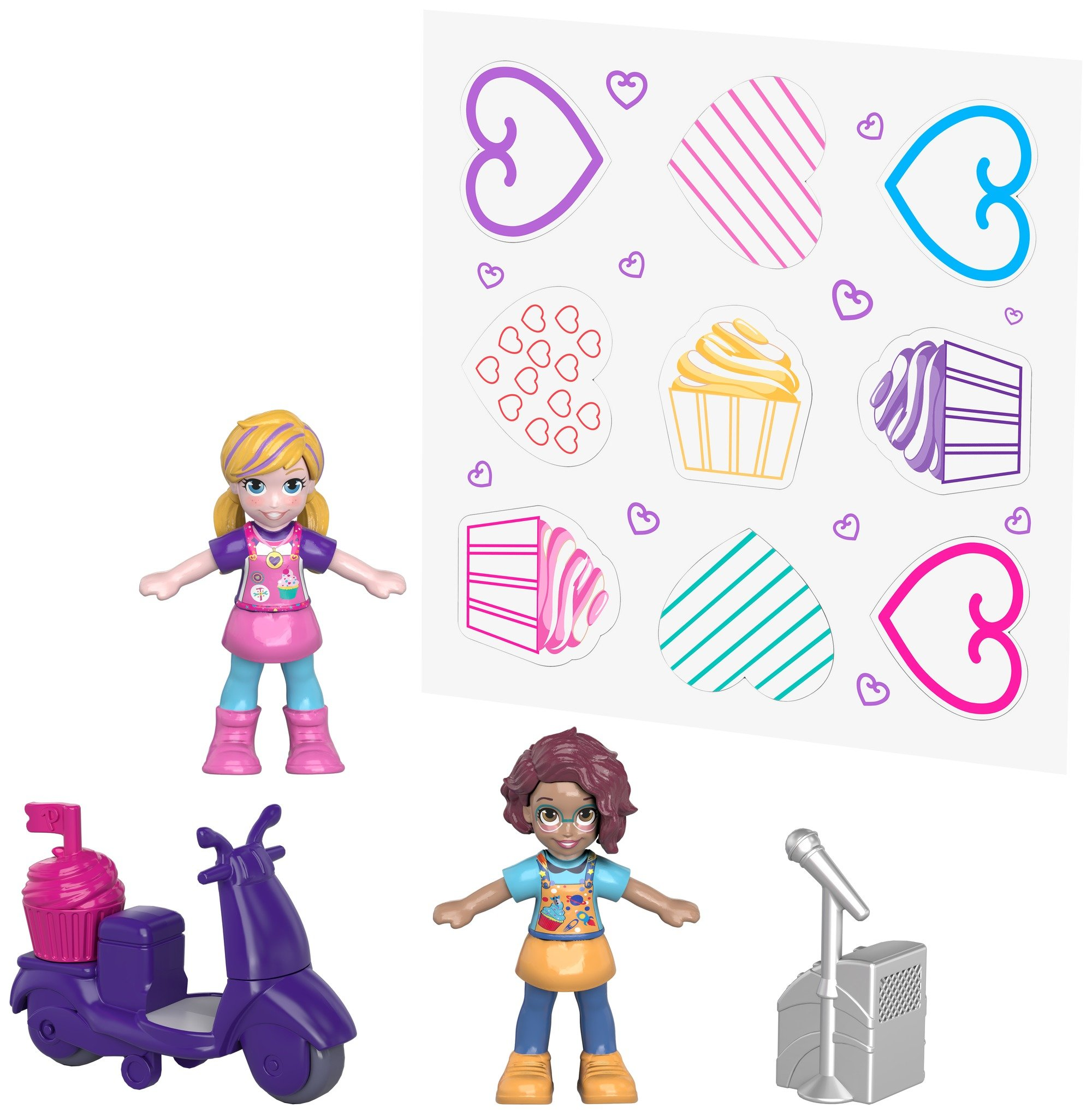 Polly Pocket Sweet Treat Compact Multicolor by Polly Pocket (Image #5)