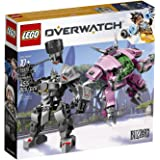 LEGO 6250956 オーバーウォッチ Overwatch D.Va and Reinhardt 75973 Building Kit , New 2019 (455 Piece)