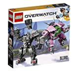 LEGO D.Va and Reinhardt Bastion Building Kit