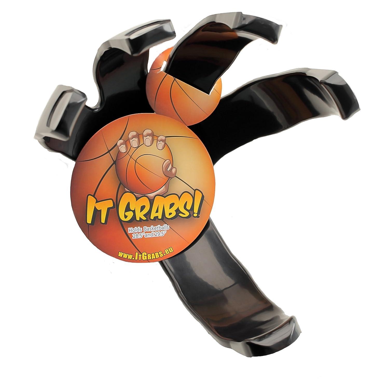 It Grabs Sportball Halter - Basketball - Schwarz - hand claw - Ball Halter - Ball halterung It Grabs Europe