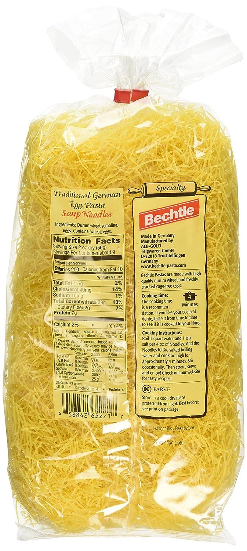 Bechtle German Egg Noodles - Thin ( 17 6 oz )