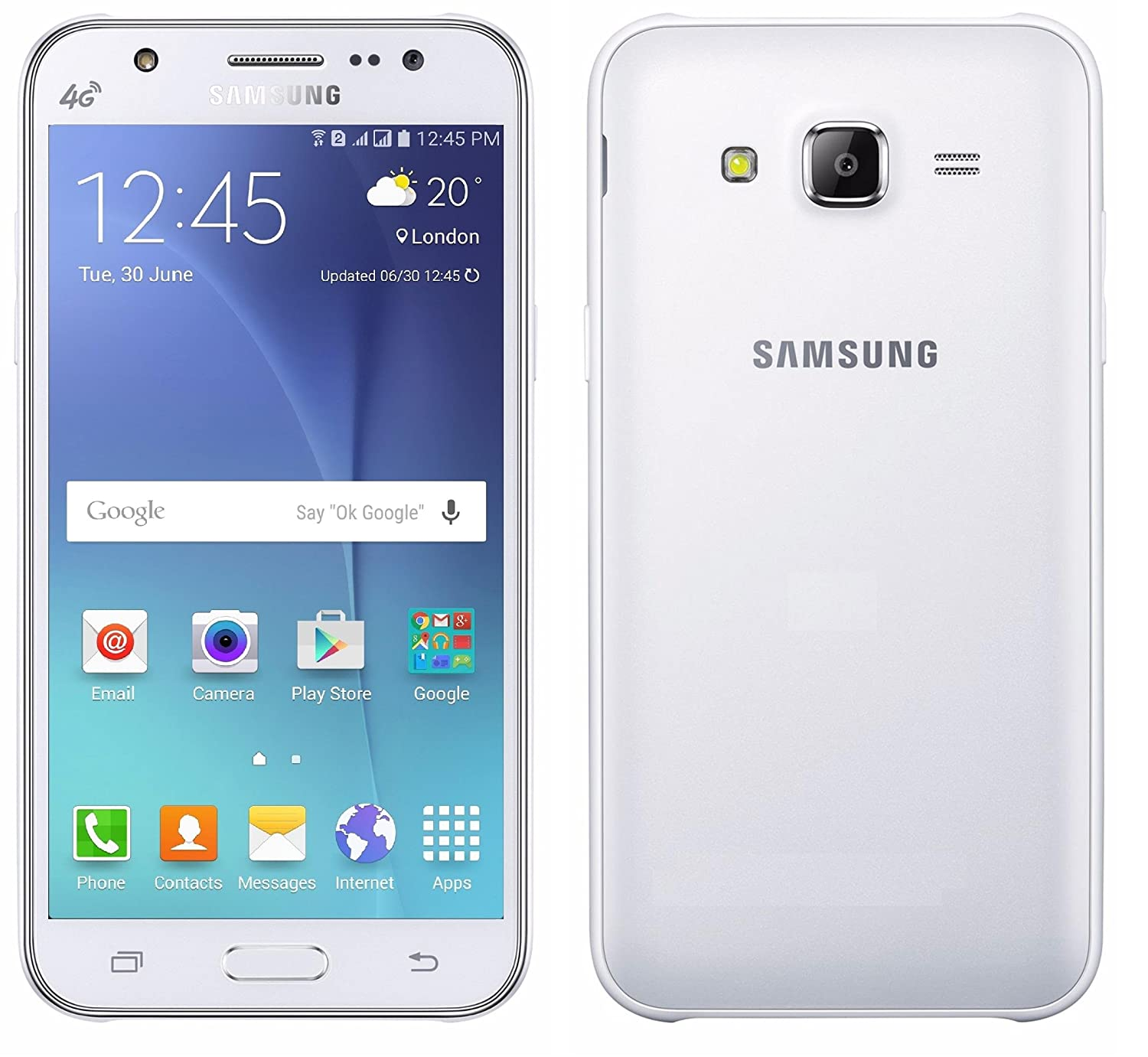 white samsung galaxy phones. amazon.com: samsung galaxy j7 j700m 16gb dual sim lte unlocked phone - retail packaging white (international version): cell phones \u0026 accessories
