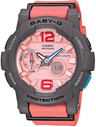 91e5c65506fa Amazon.com  CASIO BABY-G G-LIDE (BGA-180-4B2JF) Watch  Watches