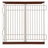 Richell Divider for Expandable Pet Crate - Dark Brown