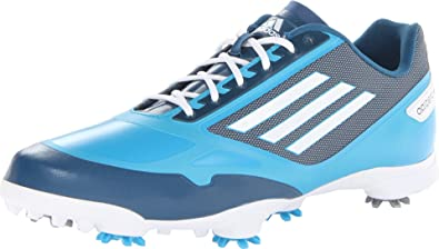 best sneakers 3cb49 03044 adidas Mens Adizero One Golf Shoe,SolarmetWhiteTribe Blue,9 M