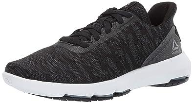 aaad49e9a49d Reebok Men s Cloudride DMX 4.0 Walking Shoe Black White Cold Grey 7 ...