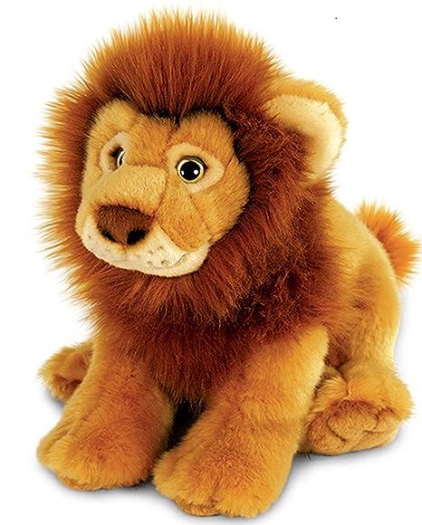 leone peluche  Lashuma Plüschtier Keel Toys Animale di peluche Felino Leone ...