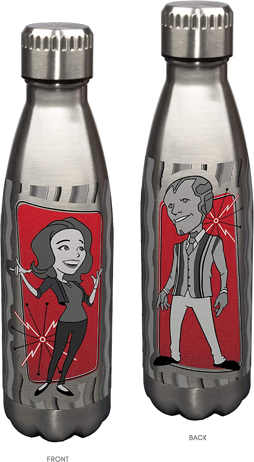 Stainless Steel Water Bottle Marvel Wanda Vision 17 oz