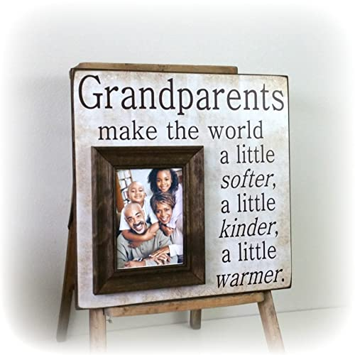 Amazon.com: Grandparents Gift, Grandparents Frame, Grandparents Day ...