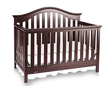 Merveilleux Graco Bryson 4 In 1 Convertible Crib, Espresso, Easily Converts To Toddler