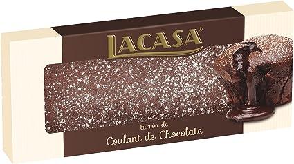 LACASA turrón de coulant de chocolate estuche 225 gr: Amazon.es ...