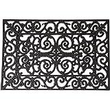 Esschert Design Door mat rubber ornament large Rubber by Esschert Design