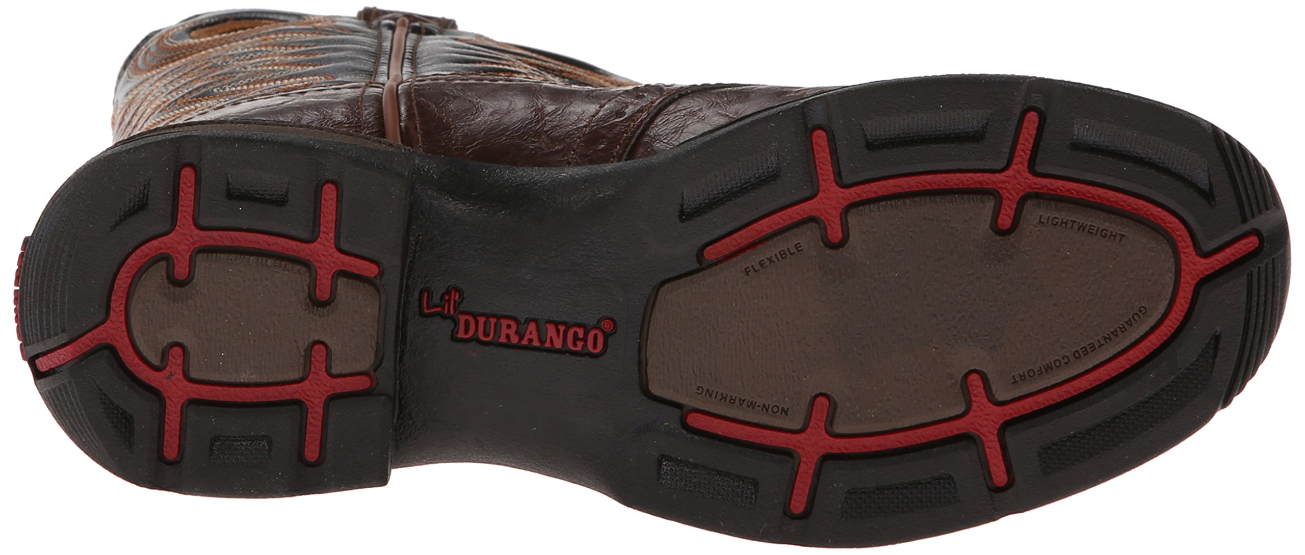 Durango Kids BT200 Lil' 8 Inch Saddle,Chestnut/Black,2 M US Little Kid by Durango (Image #3)