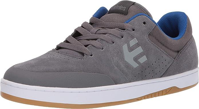 Etnies Marana Sneakers Skateboardschuhe Damen Herren Unisex Grau/Blau/Weiß