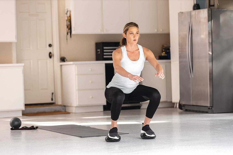 Unisex-Adulto SKLZ Balance Pods Nero Fitness Taglia Unica