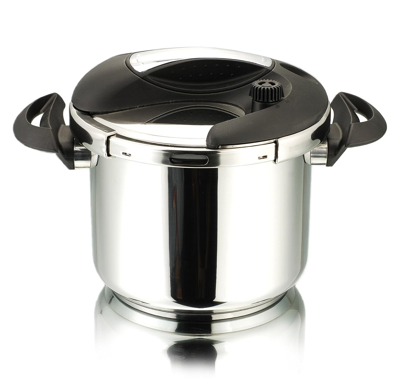 cuisinox pote deluxe pressure cooker liter stainless steel  - cuisinox pote deluxe pressure cooker liter stainless steelamazonca home  kitchen