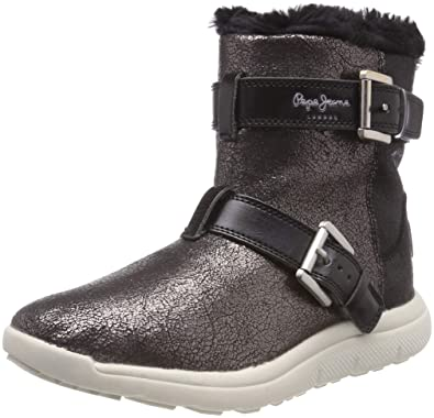 e1e2d7c7c3 Pepe Jeans London Hyke W Snow, Women's Snow Boots, Silver (Chrome 952)