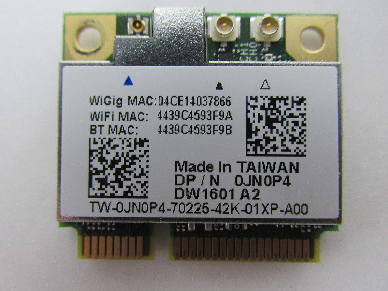 Dell JN0P4 1601 DW1601 WiFi 802.11 a/b/g/n + Bluetooth + WiGig Half-Height Mini-PCI Express Card - JN0P4