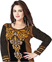 Unifiedclothes Women Fashion Printed Long Indian Kurti Tunic Kurta Top Shirt Dress 113D