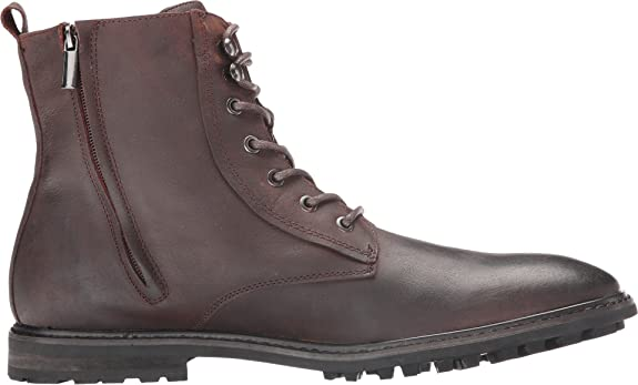 Amazon.com | Robert Wayne Thomas Mens Leather Round Toe Lace Up Casual Ankle Boots Shoes | Boots