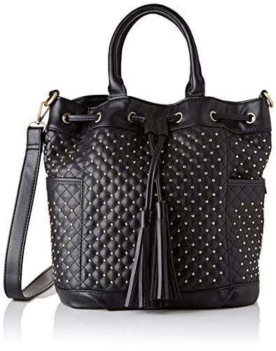 2ba7b1086c Lola Ramona Honey, Women's Shoulder Bag, Black, 15x30x28 cm (B x H T ...