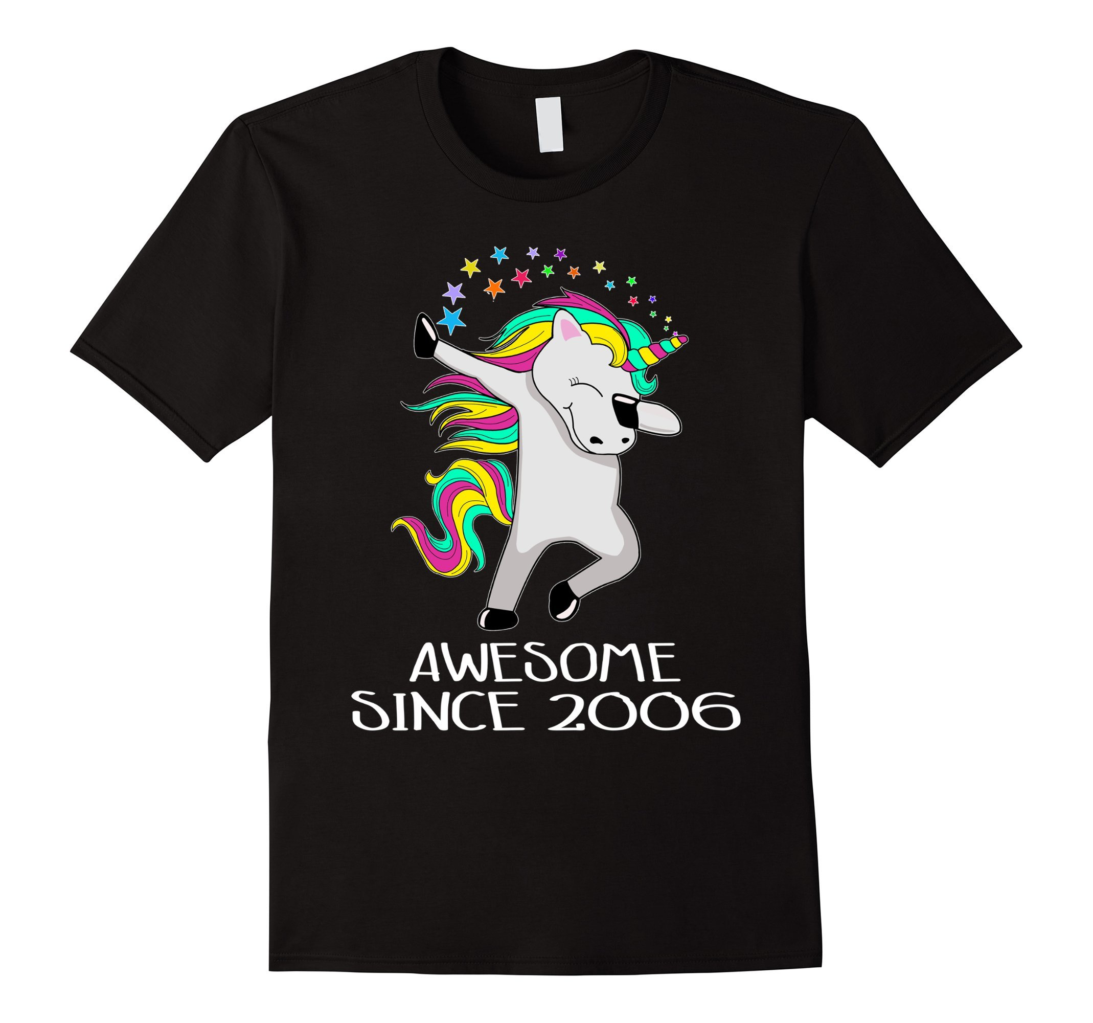 Kid 12 Yrs Old 12th Birthday Unicorn Shirt Gift 2006 Dabbing