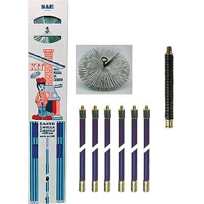 1PZ Kit ramoneur MT. 8,60+ ressort + Goupillon diamètre 250