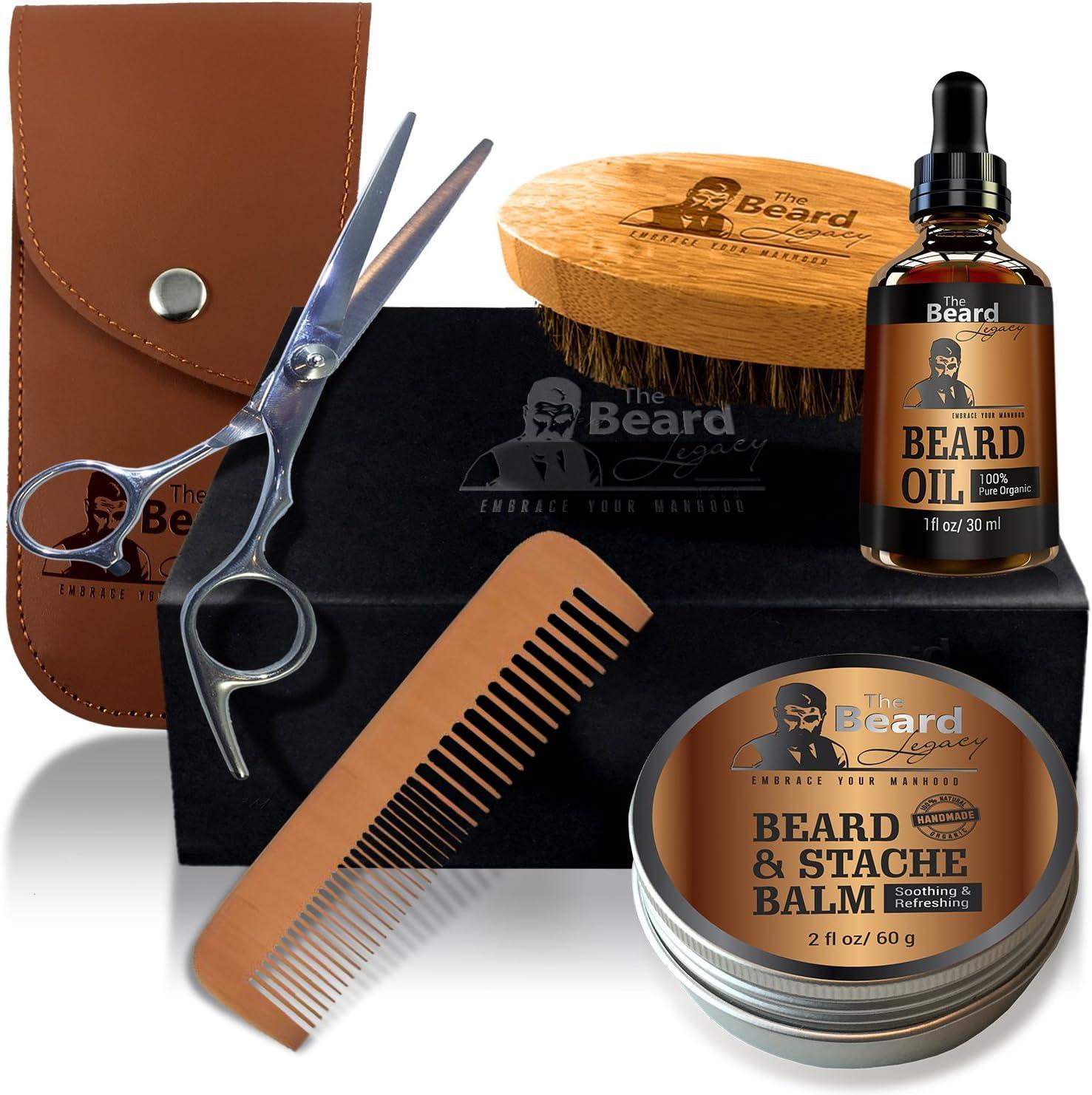 Best Beard Kits: Beard Legacy Men's Grooming Kit