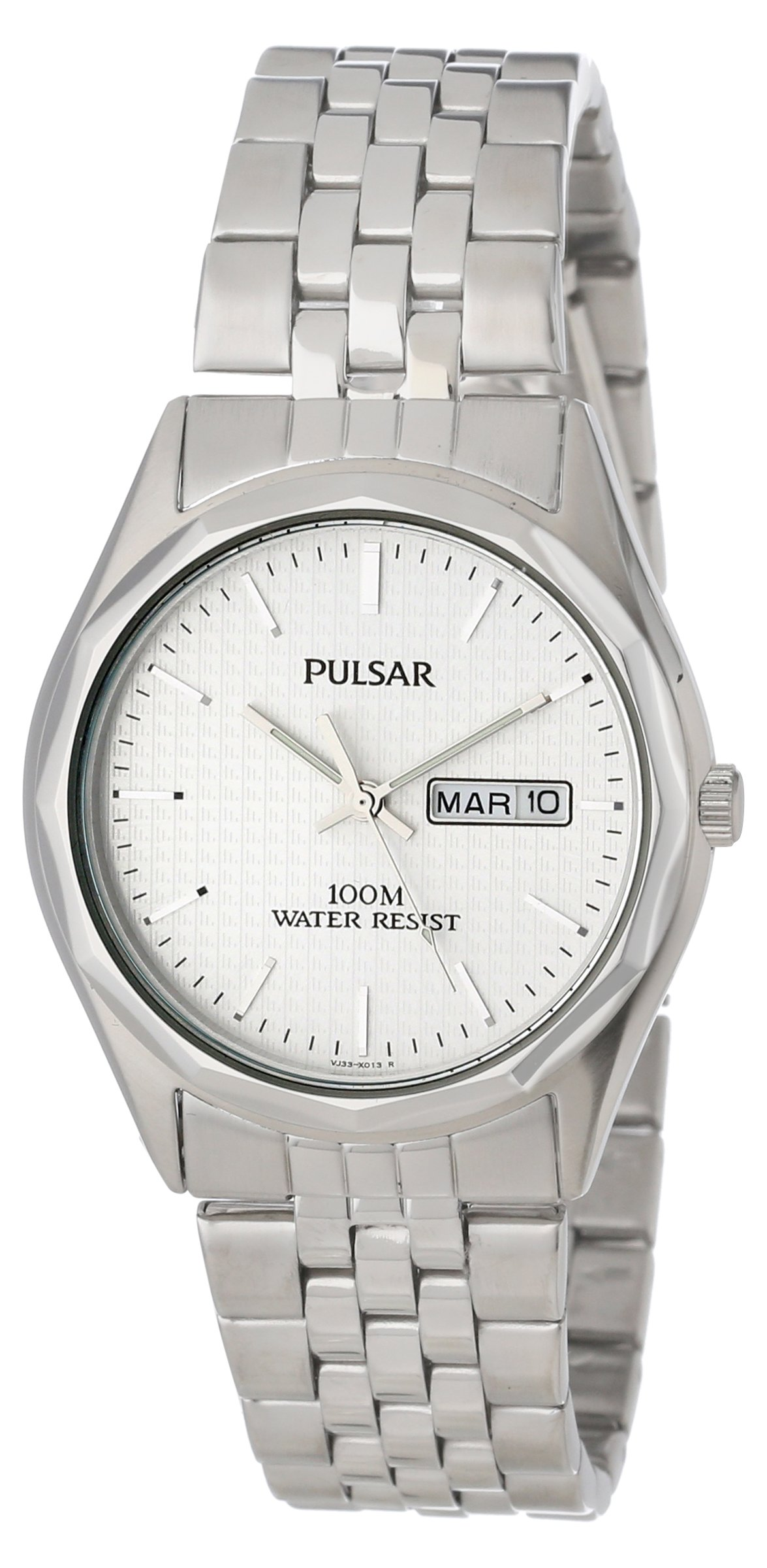 Mens Watches Pulsar Pj6029 Dress Silver Tone Watch Was Fossil Jr1515