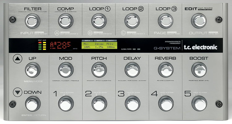 【10%OFF】 tc electronic ギタープロセッサー B00166KOMQ tc G-SYSTEM G-SYSTEM B00166KOMQ, AVACO SELECTION:a14831e1 --- riyazinterior.in