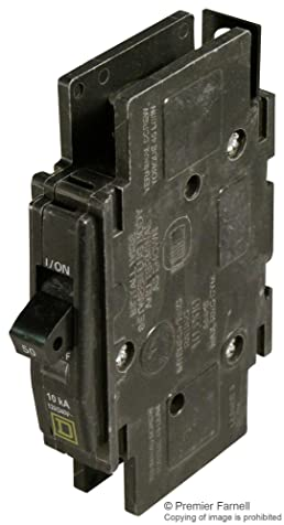 Square D QOU150 Feed Through Circuit Breaker 1 Pole 50 Amps