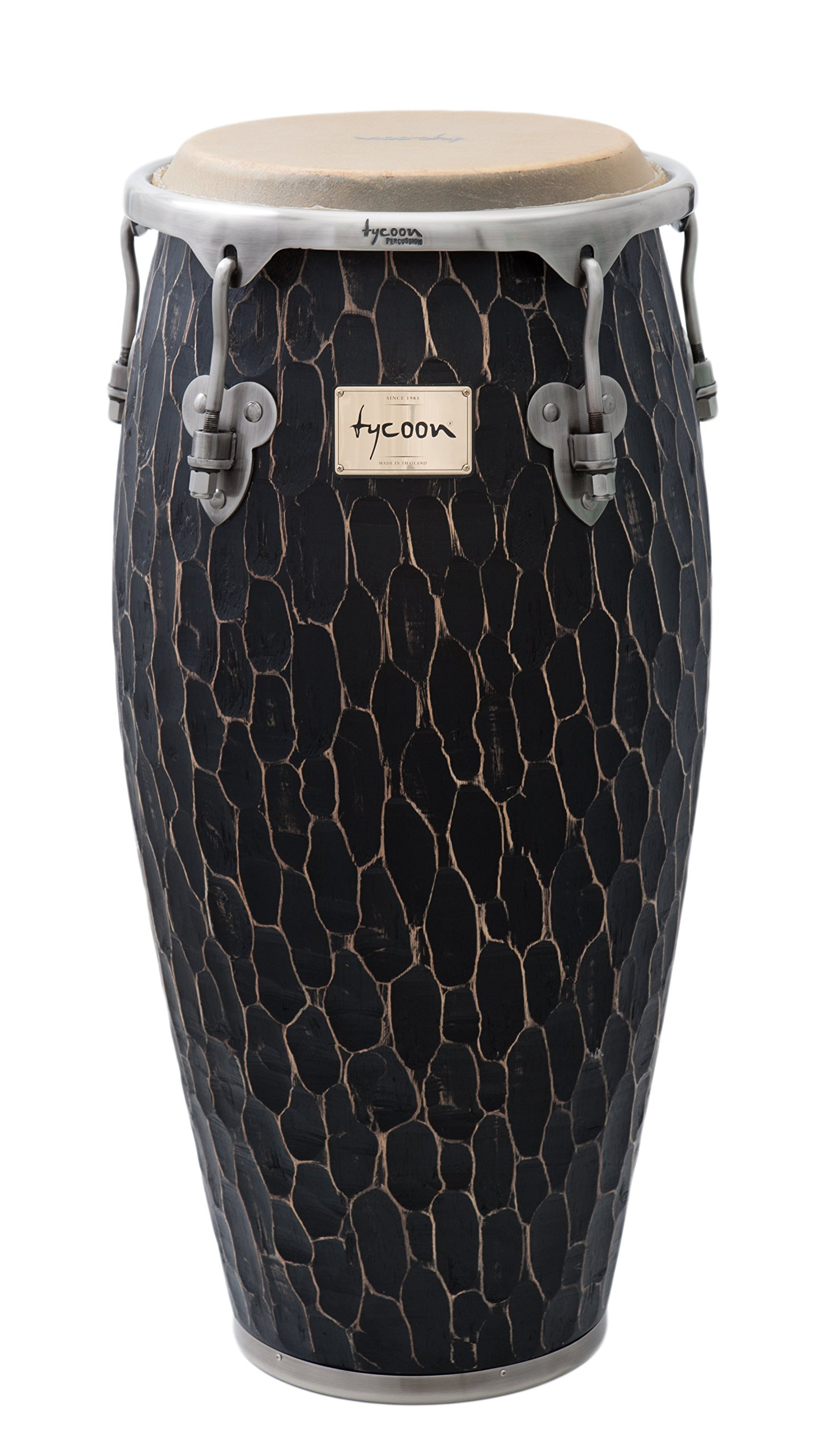 Tycoon Percussion 12 1/2 Inch Master Hand Crafted Original Series Tumba With Single Stand by Tycoon Percussion