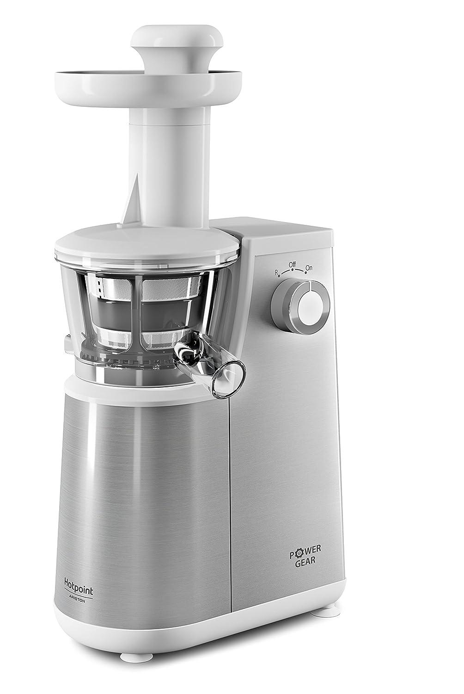 Estrattore Hotpoint SJ 4010 AW1, colore bianco [Classe di efficienza energetica A] Whirlpool
