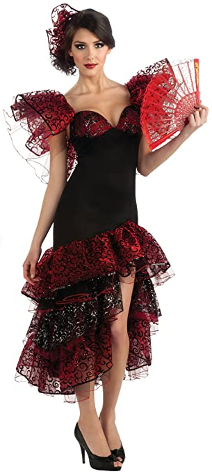 Amazon.com: Rubie 's Costume Co Flamenco Dancer Costume ...