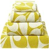 Orla Kiely Acorn Cup Dandelion: Face Towel