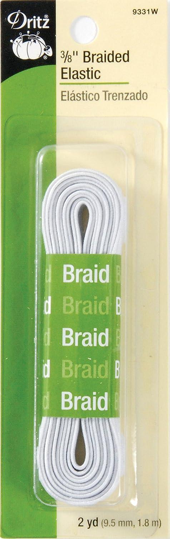 Dritz Braided Elastic 3/8
