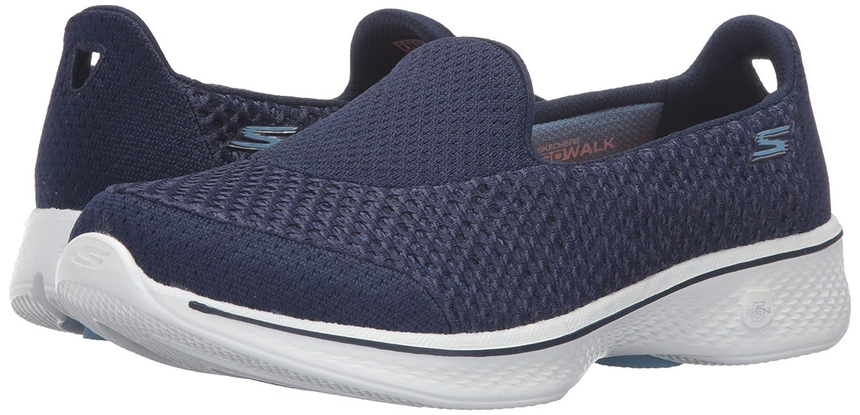 Skechers Go Damen Walk 4 - Kindle, Damen Go Sneakers Mehrfarbig (Blau/Weiß Nvw) 8e1de3