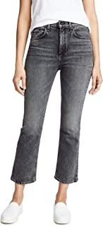 product image for Rag & Bone/JEAN Women's The Hana Cropped High Rise Jeans