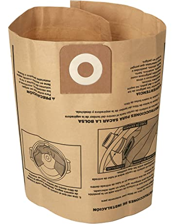 CRAFTSMAN 38749 General Purpose Wet Dry Vac Dust Collection Bags for 16 and 20 Gallon Shop