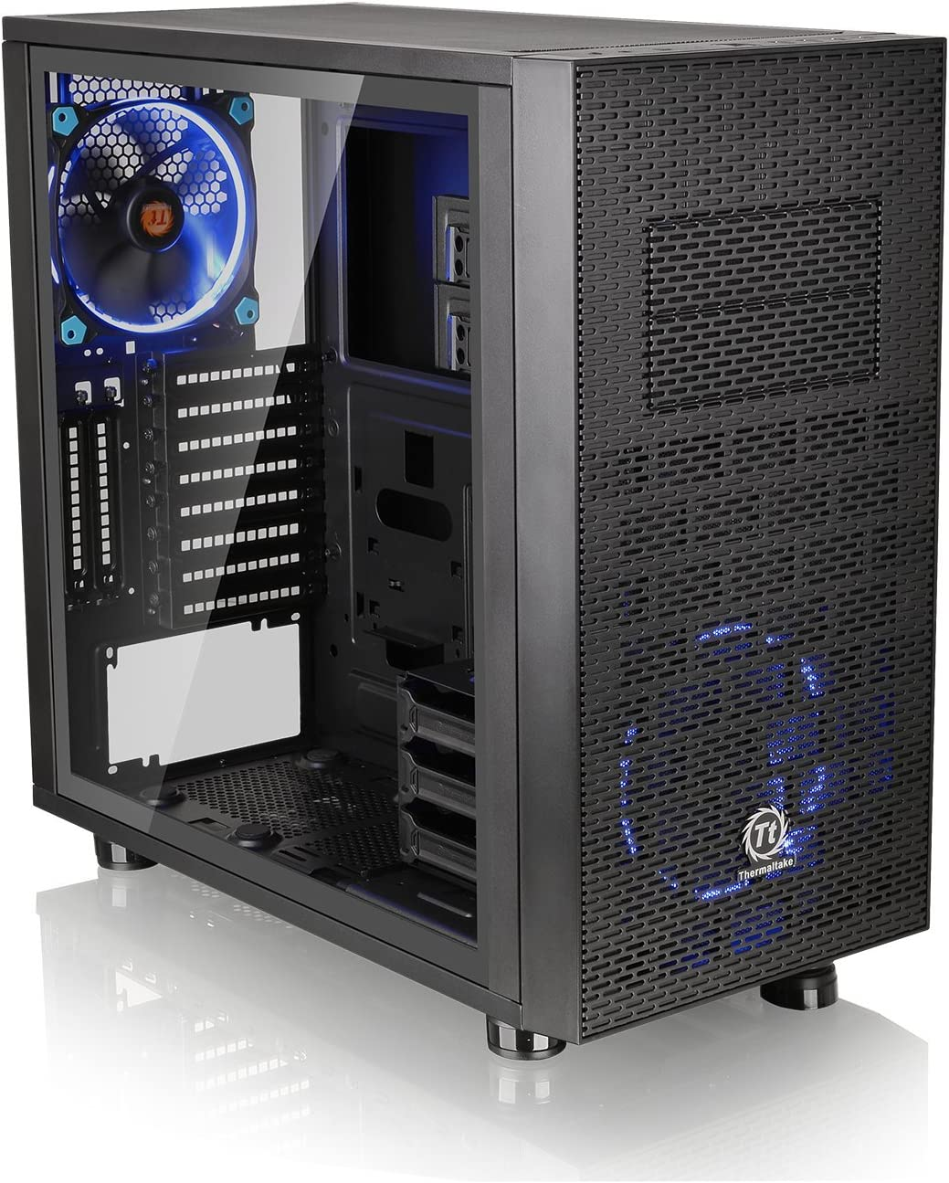 Thermaltake Core X31 Tempered Glass Edition SPCC ATX Mid Tower Tt LCS Certified Gaming Computer Case CA-1E9-00M1WN-03