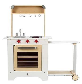 hape all in one küche kinderküche spielküche kochen holz spielzeug